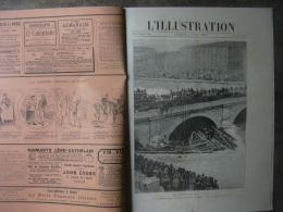 L'ILLUSTRATION 2401 LES INONDATIONS DE LA SEINE/ JAPON/ ANARCHISTES / ESCRIME 02/03/1889 Complet - Journaux - Quotidiens