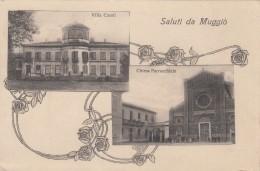 Muggio Milano Vedutine Saluti Da Muggio  Ft Piccolo  Vg 1923 - Unclassified