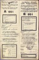 Vervoerbewijs Spoorwegen Chemins De Fer -  Nederbrakel - Gent 1935 - A/951 - Titres De Transport