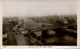 TYNE And WEAR - NEWCASTLE -  SWING BRIDGE RP T359 - Newcastle-upon-Tyne