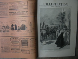 L'ILLUSTRATION 2411 EXPOSITION UNIVERSELLE / ATTENTAT CARNOT/ SAMOA 11 MAI 1889 Complet - Journaux - Quotidiens