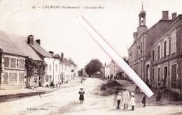 LAUNOIS (Ardennes) - Grand-Rue - Carte Très Animée - Other Municipalities