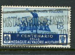 Italy Scott #338 Used - 1900-44 Vittorio Emanuele III