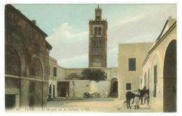 Tunisie // Tunis, La Mosquée Vue Du Château - Tunisie