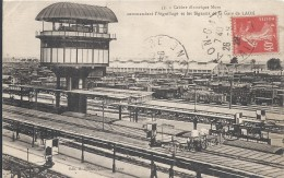 LAON Cabines électriques Mors Commandant L'aiguillage Et Les Signaux De La Gare De LAON - Laon
