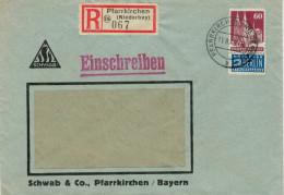 LETTERA  RACCOMANDATA  DA  PFARRKIRCHEN      (VIAGGIATA) - Baden