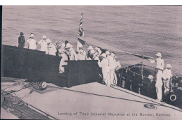 Inde, Landing Of Their Majesties At The Bunder, Bombay (3602) - India