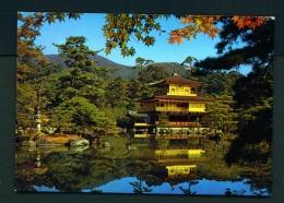 JAPAN  -  Kyoto  Kinkakuji Temple  Used Postcard As Scans - Kyoto