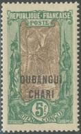 Oubangui-Chari-Tchad - N° 42 (YT) N° 42 (AM) Neuf *. - Unused Stamps