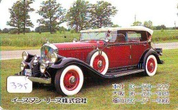Télécarte JAPON * OLDTIMER *  (335)  Phonecard JAPAN * VOITURE * Auto * CAR * TELEFONKARTE * - Cars
