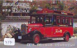 Télécarte JAPON * OLDTIMER * BUS (337)  Phonecard JAPAN * VOITURE * Auto * CAR * TELEFONKARTE * - Auto's