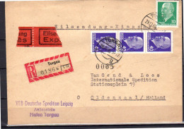 Eilsendung Exprès TORGAU 1966 > Van Gend & Loos Oldenzaal (ddr12) - Brieven En Documenten