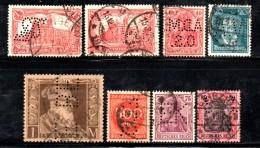 W2954 - GERMANIA REICH , Otto Valori Usati E PERFINS - Germania
