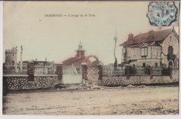 DORDIVES : COTTAGE DE LA TOUR - PHOTO CHARTIER MONTARGIS - 1906 - 2 SCANS - - Dordives