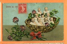 LOL558, Bébés Dans Un Panier, Trèfle, 1067, Circulée - Baby's