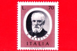 Nuovo - MNH - ITALIA - 1977 - Edoardo Bassini - 70 L. • Medico E Chirurgo Italiano - 1971-80: Mint/hinged