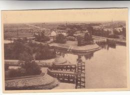 Nieuwpoort Ijzergedenkteeken Voor Koning Albert, Panoramisch Zicht Der Sluizen Ijzer En Vaarten (pk29133) - Nieuwpoort