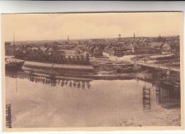 Nieuwpoort Ijzergedenkteeken Voor Koning Albert, Panoramisch Zicht Van Nieuwpoort Stad (pk29135) - Nieuwpoort