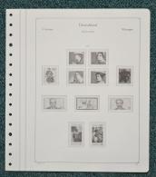 KABE Of Vordruckblätter Bund 1975/77 Gebraucht, Neuwertig (Z166) - Álbumes & Encuadernaciones