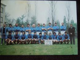 Equipe De France De Rugby Avant Le France - Angleterre Le 20 Mars 1976 ( Fouroux , Rives , Skrela , Yachvili ) - Rugby
