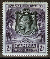 SIERRA LEONE 1921  KGV  2/-  MH         ELEPHANTS - Sierra Leone (...-1960)