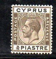 W2755 - CIPRO 1924 , GIORGIO V 3/4 Piastra N. 88    ***  MNH - Cyprus (...-1960)