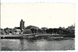Nogent Sur Seine - 10 - Le Marché - Cpsm 9/14 Cm - Voyagée 1952 - Ed Alain - Nogent-sur-Seine