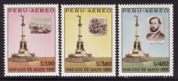 Peru #C200-2 F-VF Mint NH ** (1966) - Peru