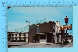 Cap De La Madeleine Quebec - Motel Boulevard AAA Photo Tessier  -  Postcard Carte Postale  -2 Scans - Quebec