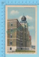 St-Hyacinthe Quebec - Couvent Des Soeurs St. Joseph - Postcard Carte Postale  -2 Scans - St. Hyacinthe
