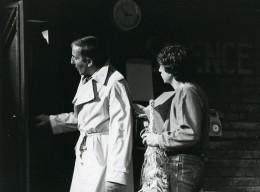 France Theatre Comedien Acteur Jacques Rosny Gerard Loussine Ancienne Photo Bernand 1970 - Famous People