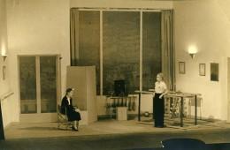 France Nancy Scene De Theatre Décor Actrices Ncienne Photo 1930 - Famous People
