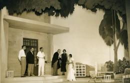 France Theatre De L'Odeon Louis Jouvet Piece Un Taciturne Ancienne Photo Lipnitzki 1931 - Célébrités