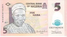 Nigeria - Pick 38 - 5 Naira 2011 - Unc - Nigeria