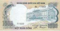 South Vietnam - Pick 34 - 1000 Dong 1972 - AUnc - Viêt-Nam