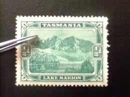 TASMANIA TASMANIE 1900 LAC MARION Yvert Nº 59 * MH - 1853-1912 Tasmania