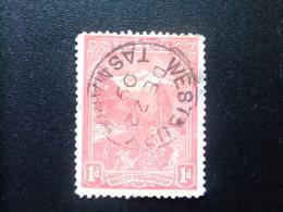 TASMANIA TASMANIE 1906 -1912 MONT WELLINGTON Yvert Nº 75 º FU - Gebraucht