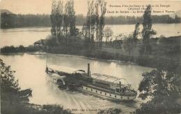 CPA Chanaz-Canal De Savière-Le Rhône-Le Gâteau à Vapeur   L2089 - Altri Comuni