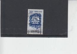 VENEZUELA  1953 - Yvert  A 486° - Estado Portuguesa - Uccelli - Venezuela
