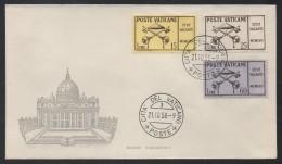 VATICAN - VATICANO - SEDE VACANTE / 1958 FDC SASSONE # S64 / COTE 50 € (ref 1442) - Vatican