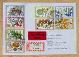 (1047662) Brief Eilzustellung, 4 X Bund, 4 X Berlin, SST Berlin 11. 10. 1979, Siehe Bitte Bilder - Cartas