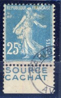 #K2879. France Publicitimbre. Yvert 140g. Braun 53,5. Cancelled. - Advertising