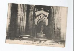 JERUSALEM 7 INTERIEUR DE L'EGLISE SAINTE ANNE 1928 - Israele