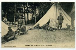 33.Blaye.Guerre De 1914.Campement Des Prisonniers Allemands   (rare). - Blaye