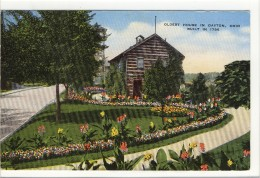 Carte Postale Ancienne Ohio - Oldest House In Dayton. Built In 1796 - Dayton