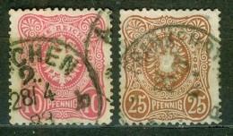 Aigle, Héraldique - ALLEMAGNE - Pfennige Sans E Final - N° 38 - 40 - 1879 - Deutschland