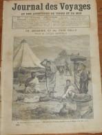 Journal Des Voyages. N°721. 1891. En Abyssinie Et Au Pays Galla. Le Roi Kalakaoua. Les Canadiens Français. - Journaux - Quotidiens