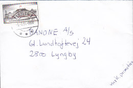 """Denmark Deluxe ESBJERG Ø. 1994 """"Petite"""" Cover Brief LYNGBY 3.75 Kr Amalienborg Castle Stamp - Dänemark"""