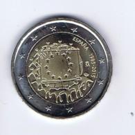 Spagna - 2 Euro Commemorativo Anno 2015  -   Bandiera Europea - Spagna