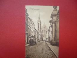 Tournai : Rue Saint-Martin- Attelage ( T1386) ! 1 Coin Plié ! - Tournai
